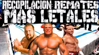 Los Remates Mas Letales Y Realistas De WWE | Loquendo