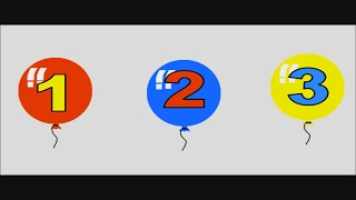 Learning Numbers For Toddlers - Teach Counting - Kids Learning How To Count