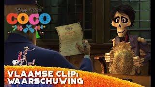 Coco   Vlaamse Clip: Hector Krijgt een Waarschuwing   Disney BE