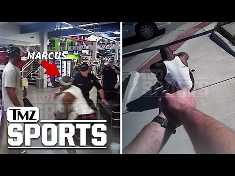Ex NFL QB Marcus Vick Insane Police Video Running from Cops & Captured at Gunpoint