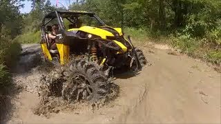 "Can Am Maverick on 34"" Terminators"