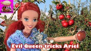 Ariel is Kidnapped - Part 1 - Elsa the Mermaid Series - Frozen Littlest Mermaid Funny Video   Disney