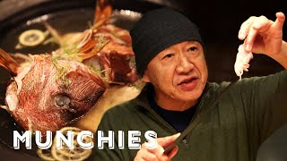 How 3 Michelin Star Sushi Legend Masa Cooks at Home