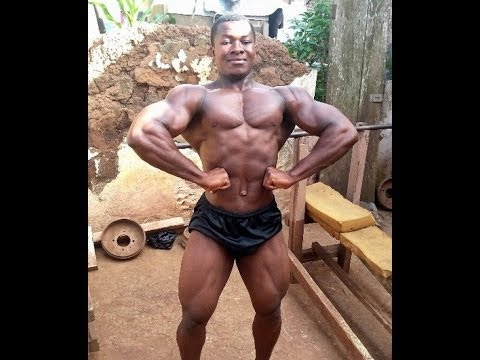 INSANE AFRICAN BODYBUILDER DOESN'T FOLLOW IIFYM, HE JUST LIFTS!