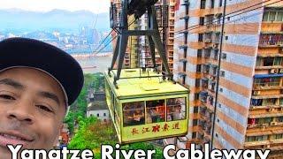 [Full Video] AMAZING Yangtze River Cableway RIDE in Chongqing China! | Don