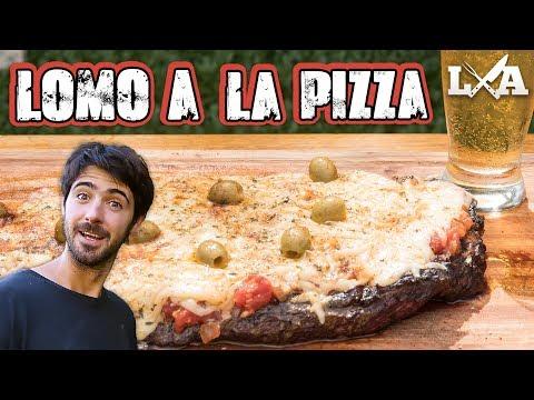 Lomo a la Pizza a la Parrilla - Receta de Locos X el Asado