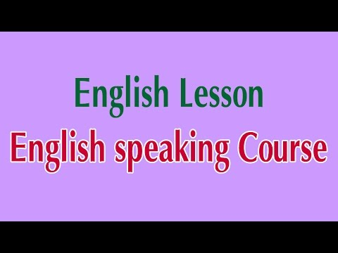 watch Learn English Online - English speaking Course English Lesson