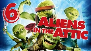 Aliens in the Attic Walkthrough Part 6 (PS2, Wii, PC) Movie Game - Level 06 -