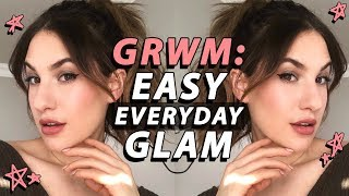 GRWM: EASY EVERYDAY MAKEUP! Cool Toned GLAM | Jamie Paige