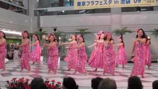 Hawaiian dance @ Ikebukuro