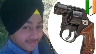 Selfie death: Indian teen accidentally shoots himself while posing with a gun - TomoNews