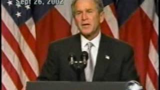 This is the guy who tried to kill my dad. George W. Bush