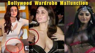 Top 11 Bollywood Celebrity Wardrobe Malfunctions Ever | Kareena, Alia, Parineeti, Jacqueline, Nargis