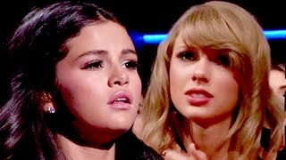 Selena Gomez Makes Taylor Swift Cry - American Music Awards