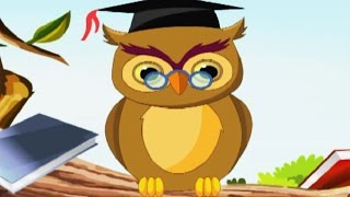 A Wise Owl Nursery Rhyme - Animated Songs for Children