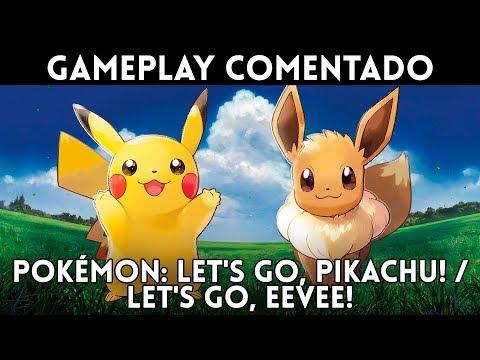 Xxx Mp4 GAMEPLAY Español POKÉMON LET S GO PIKACHU EEVEE JUGAMOS 2 Horas Al Pokémon De NINTENDO SWITCH 3gp Sex