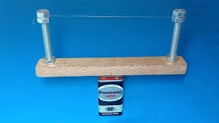 How to make hot wire foam cutter , Amazing tool 2019