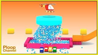 Cartoon Cars - BROKEN BALL POOL - Cartoons for Children - Videos for Kids - Kids Cars Cartoons