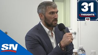 """Ovechkin On Breaking Gretzky's Record, Becoming A Father And How """"Goalies Are Liars"""" 