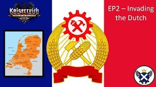HOI4 Kaiserreich Commune of France EP2 - Invading the Dutch
