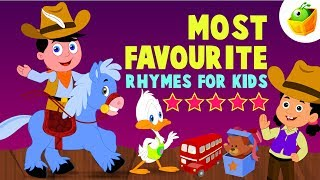 Most Favourite Rhymes for Kids | 53 Mins Non Stop Compilation