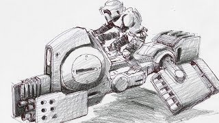 Inside Adam Savage's Cave: Concept Art Reimagining Star Wars!