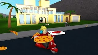 Pizza Delivery in Roblox + House Tour / Welcome to Bloxburg / Gamer Chad Plays