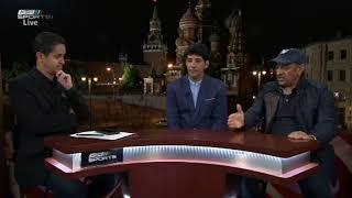 بندر الجعيثن - دفاع المنتخب جيد ومهارة اللاعبين ستواجه محترفي أوروبا في منتخب مصر #المونديال