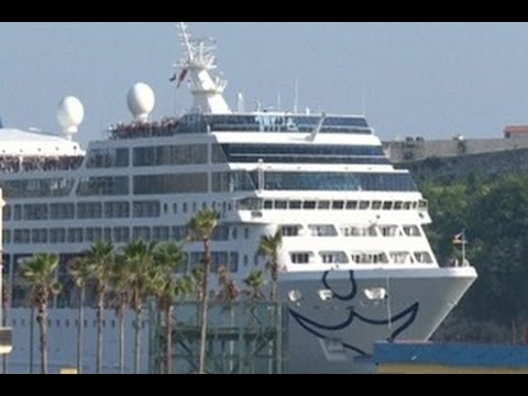 Kapal Pesiar Amerika Tiba di Havana Setelah 50 Tahun