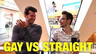 HIDDEN CAM: Gay Vs. Straight Experiment!