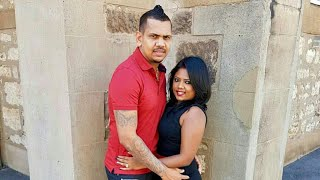 Sunil Narine with hot Indian Wife Nandita Kumar | Lahore Qalandars - Pakistan Super League PSL 2018