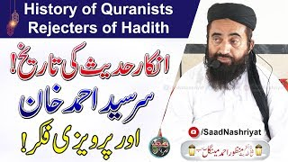 History of Quranists - Rejecters of Hadith   Maulana Dr Manzoor Mengal   انکار حدیث کی تاریخ