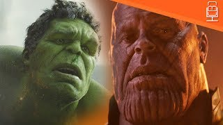 Hulk Vs Thanos in Avengers Infinity War....Hulk is Terrified & Afraid