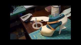 How to make shoes (KILLER SNAKE SKIN High Heels) (