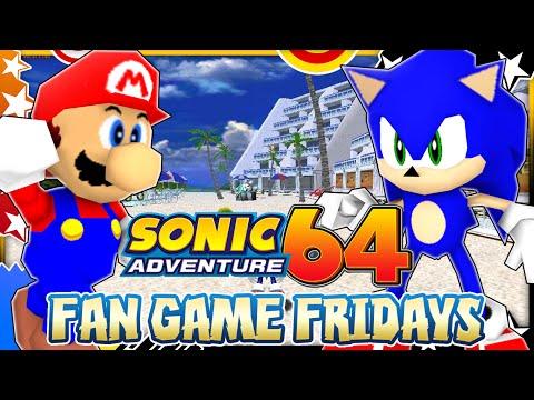 Fan Game Fridays - Sonic Adventure 64: Emerald Coast | Daikhlo