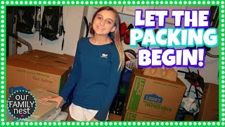 LET THE PACKING BEGIN! MOVING VLOG DAY 1
