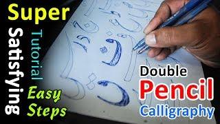 2+Pencil+Calligraphy+%7C+improve+Urdu+handwriting+%7C+Tutorial+for+beginners+in+Urdu+%26+Hindi