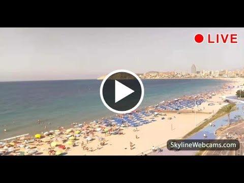 Live Webcam from Benidorm Spain