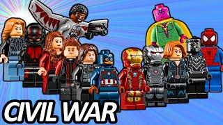 TOP 13 LEGO Avengers Minifigures in Captain America: Civil War - Lego Lists