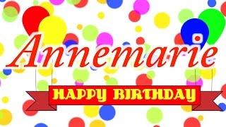 Happy Birthday Annemarie Song