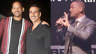 Will Smith Talks About Akshay Kumar's GRAND House Party For Him