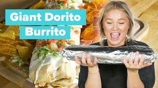I Made a Giant Dorito Burrito • Tasty