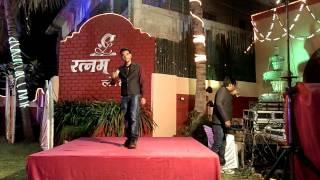 Superb Shayari at Sagar Sudke's Reception