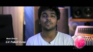Raja Rani - Making of Hey Baby   Arya, Atlee, G V Prakash and M Sherif