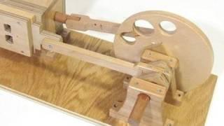Wooden air engine