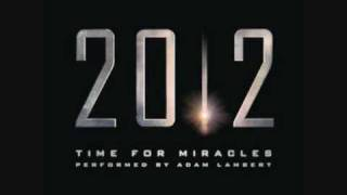 Adam Lambert - Time For Miracles (2012 Soundtrack)