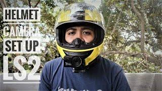 My Motovlogging Setup | Helmet Cam | Sjcam sj8 pro | Chin mount