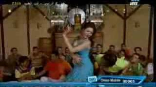 DINA arabic bellydance superstar in TV video egyptian song
