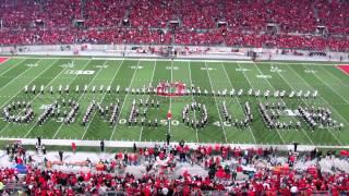 HD 1080P OSUMB Video Game Half Time Show PLUS Script Ohio TBDBITL Ohio State vs. Nebraska 10 6 2012