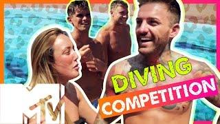 GEORDIE SHORE SEASON 11 | DIVING COMPETITION!! | MTV